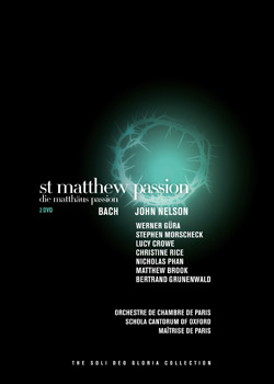 St. Matthew Passion DVD